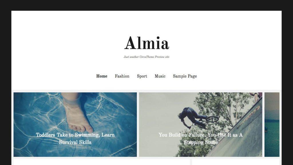 almia-wordpress-theme