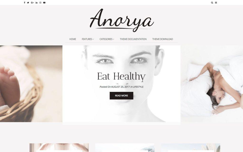 anorya-wordpress-theme