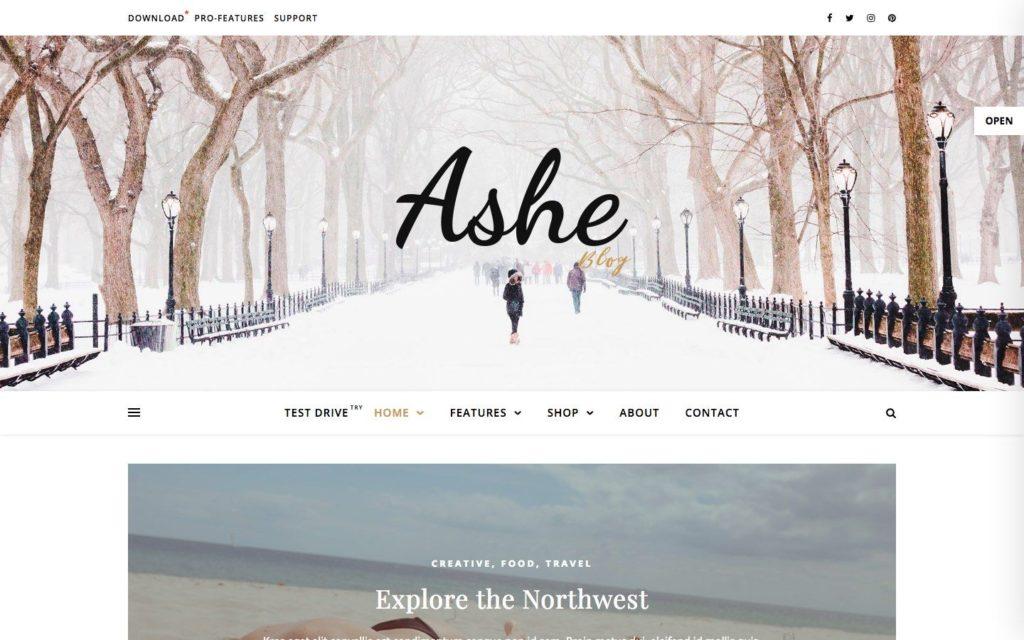 ashe-wordpress-theme