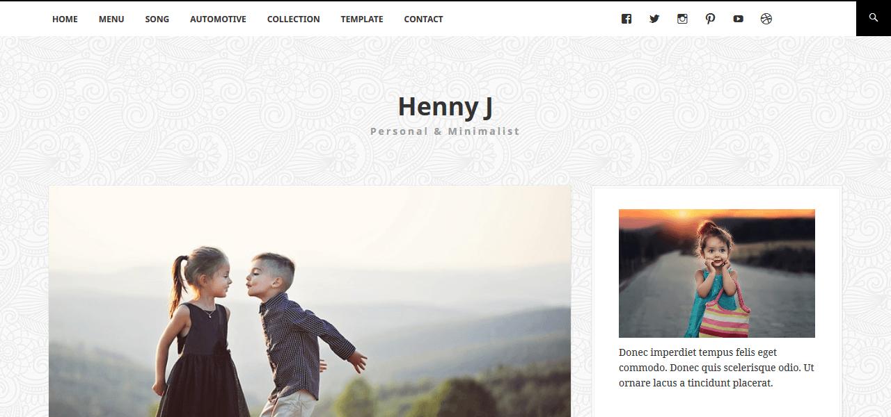 best-free-wordpress-theme-food-bloggers-hennyj