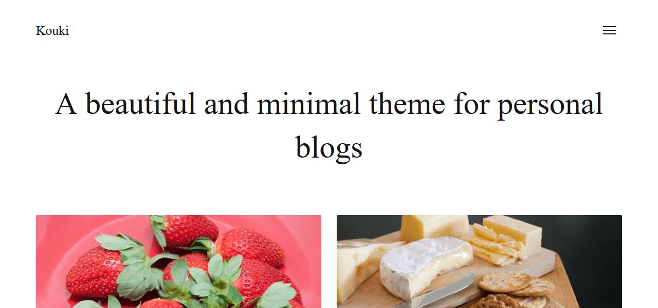 best-free-wordpress-theme-food-bloggers-kouki