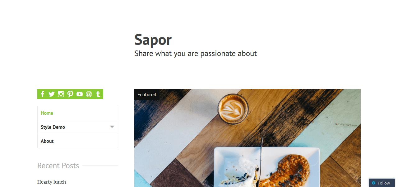 best-free-wordpress-theme-food-bloggers-sapor