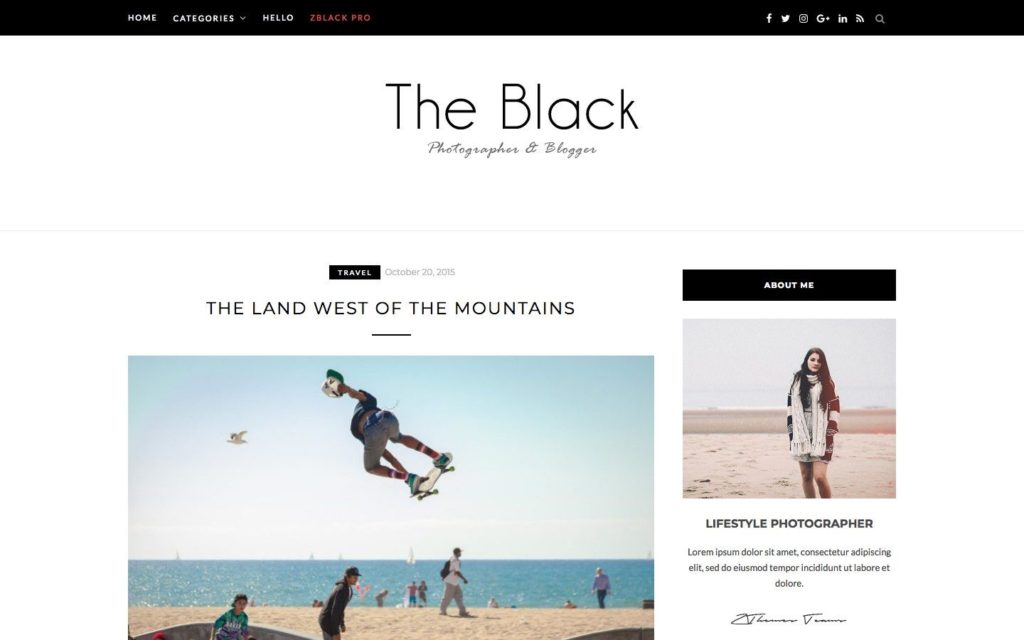 blacklite-wordpress-theme