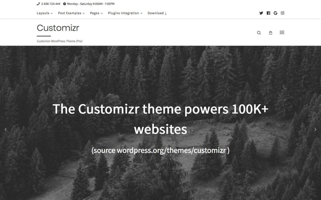 customizr-wordpress-theme