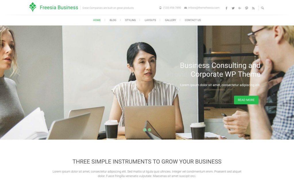 freesia-business-wordpress-theme
