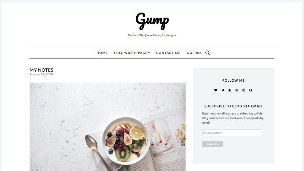 gump-wordpress-theme
