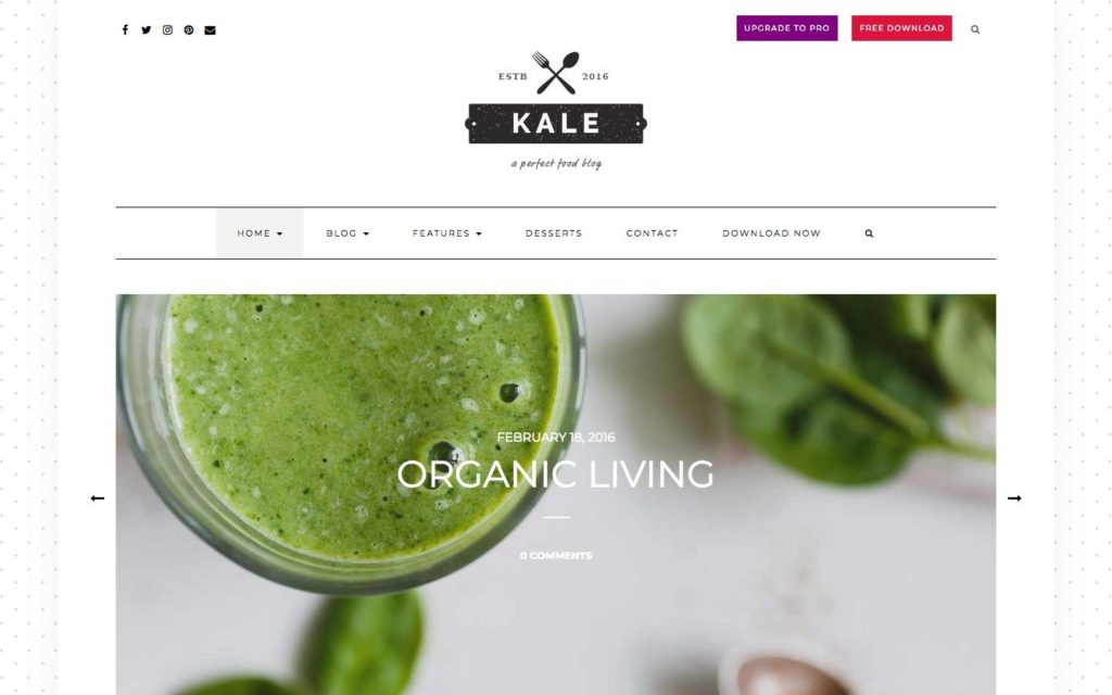 kale-wordpress-theme