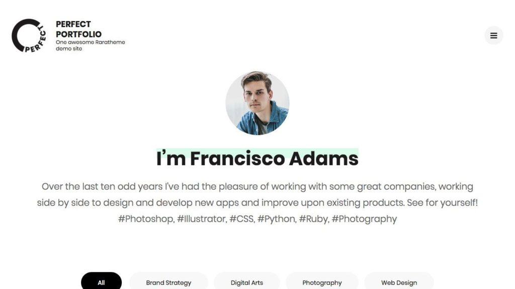 perfect-portfolio-wordpress-theme