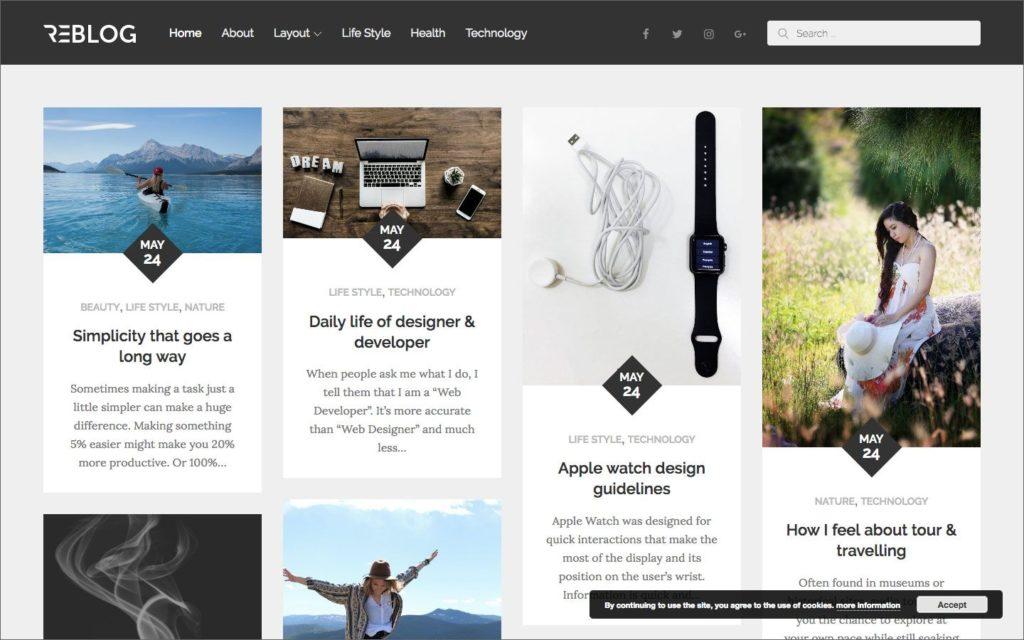 reblog-wordpress-theme