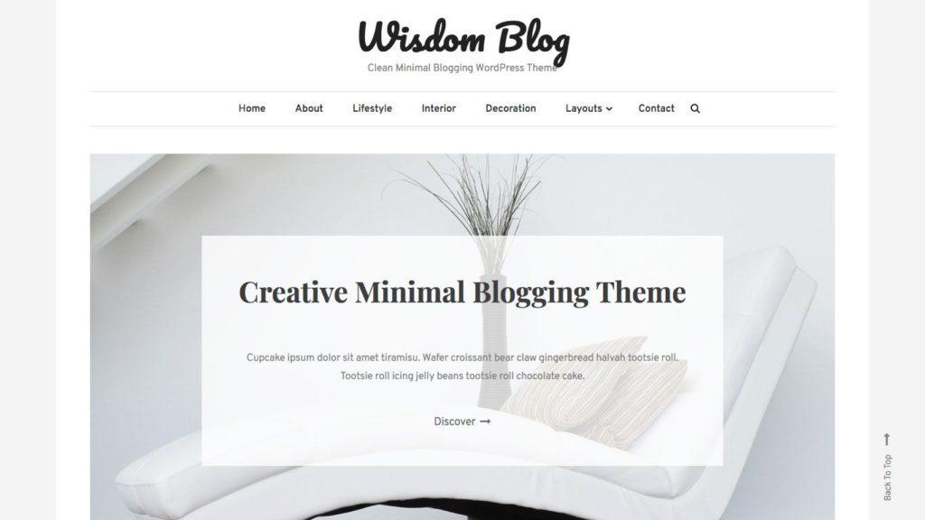 wisdom-blog-wordpress-theme