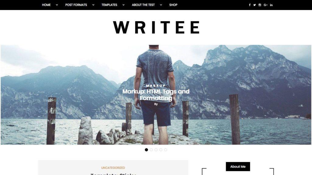 writee-wordpress-theme